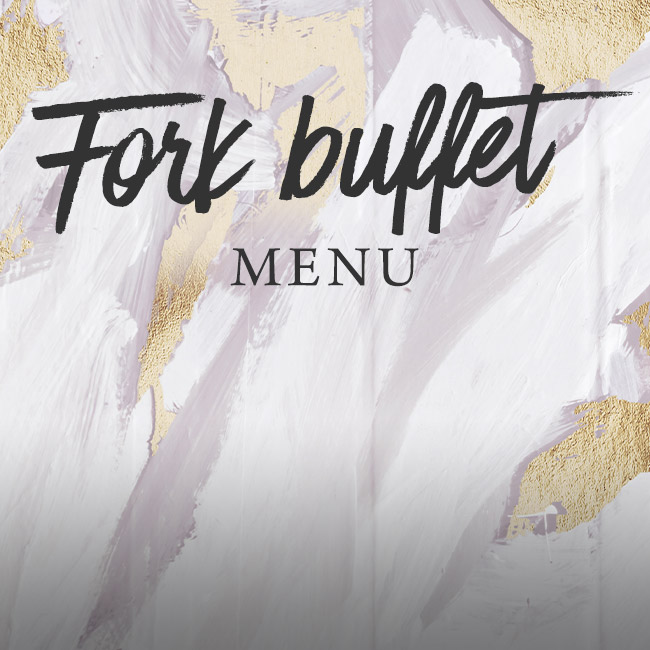 Fork buffet menu at The Woolpack