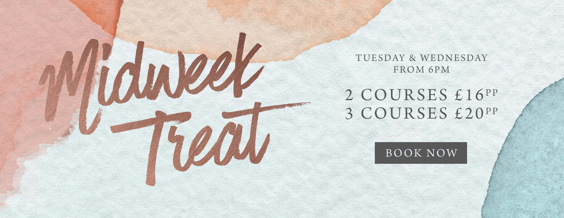 Midweek treat at The Woolpack - Book now